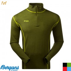 Bergans Akeleie Half Zip Merino Baselayer Top
