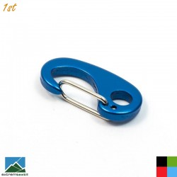 Mini Wiregate Carabiner with Eyelet (35mm, 4g)