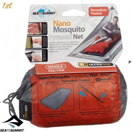 Sea To Summit Solo Nano Mosquito Pyramid Net