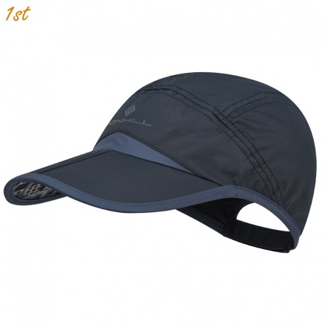Ronhill Trail Split Cap (Black & Charcoal Grey)