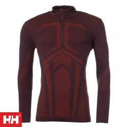 HH Lifa Merino Seamless Half Zip Baselayer