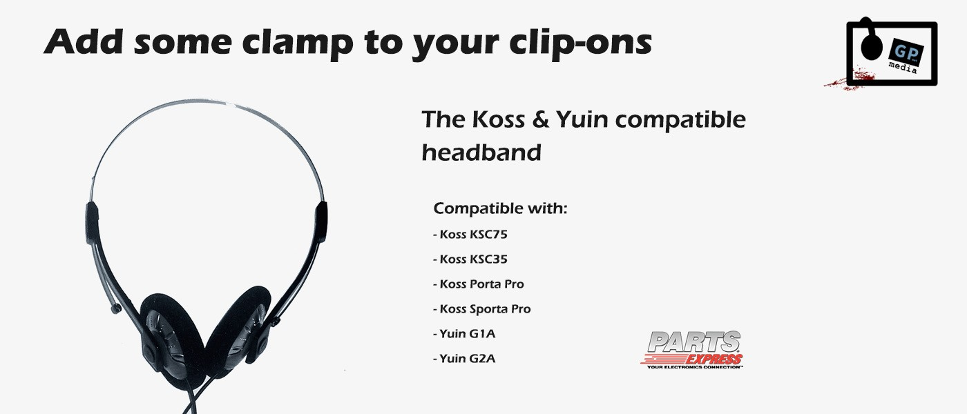 Koss KSC75 Compatible Headband by Parts Express available from GP-Net Media